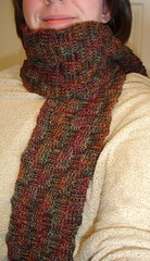 Basketweave Scarf 08