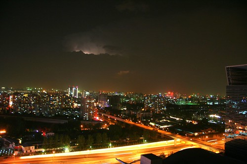Storms over Beijing