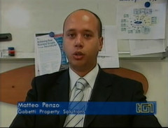 Matteo Penzo on TG1