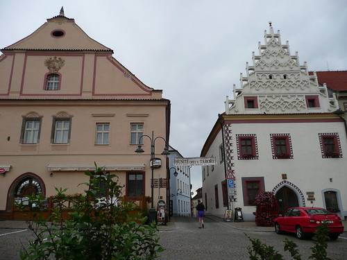 Town square in Tabor