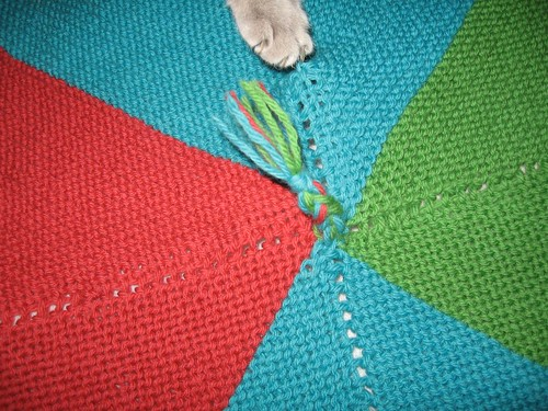 EZ Baby Blanket - detail
