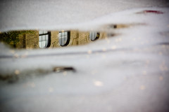 Window Reflection (smcgee) Tags: city urban reflection water minnesota puddle grey upsidedown cloudy minneapolis august ne bleak sliver twincities glimpse asphalt northeast partial nordeast flickrwalk tcfg080507