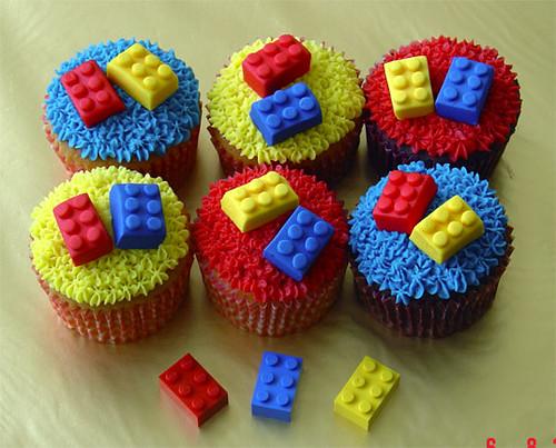Lego-Cupcakes
