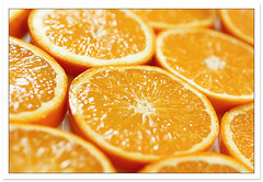 Burst Of Sunshine (babybee) Tags: juicy bravo citrus oranges orangeslices summery raysofsunshine fotografikas sliceoforange superhearts burstofsunshine