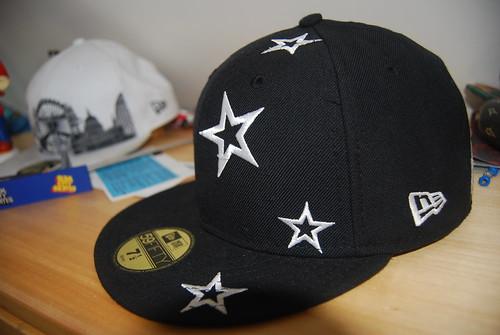 new era hat black white stars gold sticker fluff slam city skates mario 59fifty 59 fifty london skyline southbank centre tickets