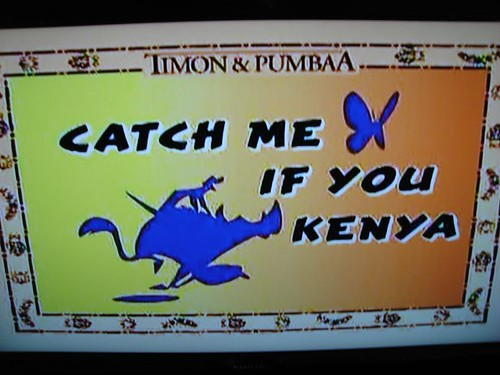 Catch me if you kenya