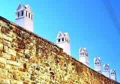 I      I   I  III (Emilofero) Tags: chimney wall architecture perspective greece