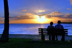 I Wanna Grow Old with You (harogi) Tags: sunset clouds bench hawaii waves searchthebest oahu sweet magicisland explore sidewalk pacificocean surfers honolulu coconuttree blueskies sunrays sets oldcouple adamsandler herradura alamoanabeachpark blueribbonwinner supershot explore18 mywinners platinumphoto aplusphoto harogi theperfectphotographer haroldherradura haroldgherradura growoldwithyou surferwithapaddle waianaeridge c2007haroldgherradura
