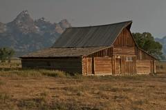 Mormon Row Barn (jfew) Tags: nationalpark cabin wyoming tetons grandtetonnationalpark moultonbarn