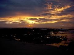 sunset near Tamarindo