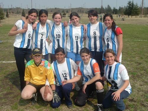 Equipo de Fútbol 7 Femenino - Municipalidad de Hernando