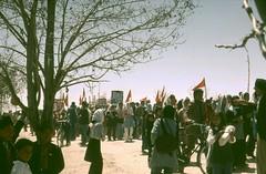 Afghanistan .Rally Ghazni . (143) (pjwar) Tags: travel afghanistan flags ghazni pjwar