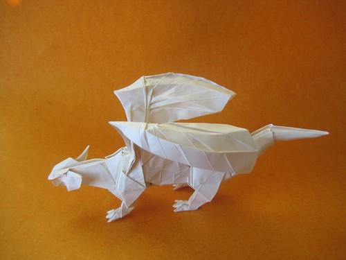 Origami Dragon 05
