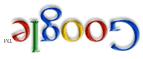 Google Logo andersrum