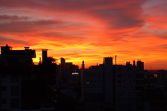 A cidade em chamas