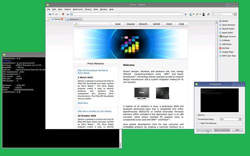 Fast webbrowsing with Efika MX
