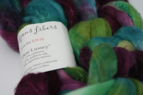 """Pure Luxury"" from Frabjous Fibers"