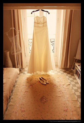 WEDDING / MARIAGE : The Dress