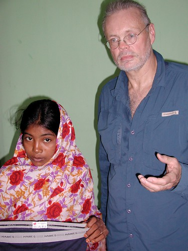 Halima and Director Charles Kernaghan