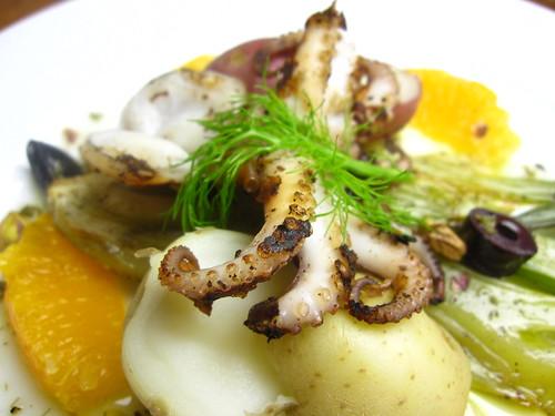 Baby Octopus a la Plancha