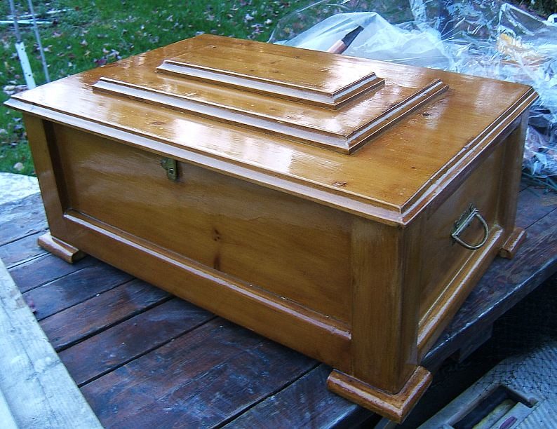 sad ending boscoe home made pet cat casket coffin for a cat that will not be buried