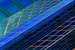 Say What? (Book'em) Tags: windows geometric lines architecture buildings reflections nikon geometry d200 mississauga