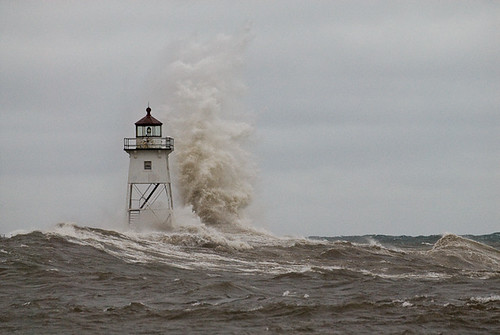 Lighthouse in Storm 2