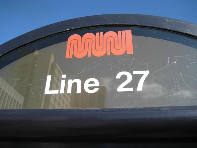 muni 27 to bryant, my ride.