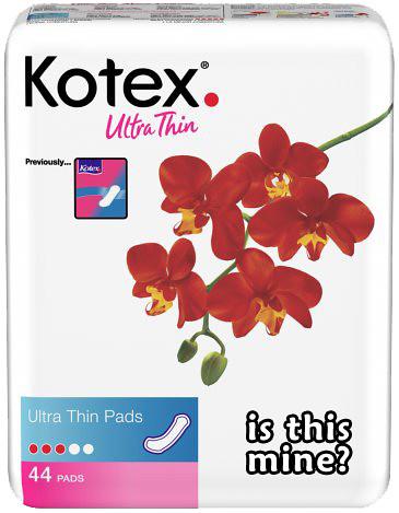 kotex pads mine2