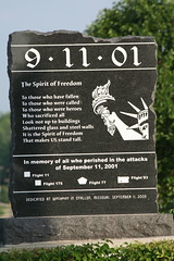 Spirit of Freedom 9-11 Memorial (Cindy シンデイー) Tags: world 2001 usa freedom memorial spirit flag 911 attack police first center 11 september mo 01 american missouri hero sept trade firefighters pentagon ofallon heros 91101 flight11 flight93 flight77 flight175 responders
