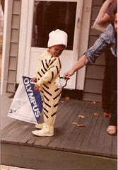I was a wee tiger