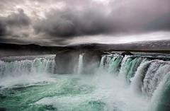 Goafoss - Waterfall of the Gods (Karnevil) Tags: nature water clouds iceland bravo waterfalls godafoss goafoss supershot waterfallofthegods flickrsbest abigfave anawesomeshot fccphotochallenge