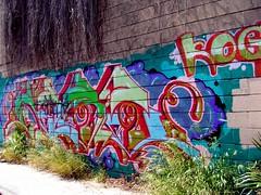 Arbe From the KOG (See El Photo) Tags: street city urban 15fav streetart color art wall graffiti weeds alley colorful paint grafiti graf urbanart alleyway 100views 200views spraypaint graff arbe grafite 1f faved  kog  seeelphoto chrislaskaris