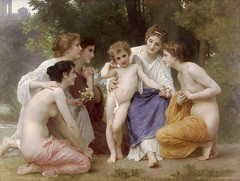 L'admiration (troednoeth) Tags: angel naked wings barefoot bouguereau