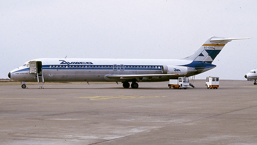EC-CGO Aviaco Cardiff 010386