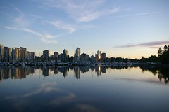 Sunset over Coal Harbour (kenny_myers05) Tags: canada vancouver stanleypark coalharbour