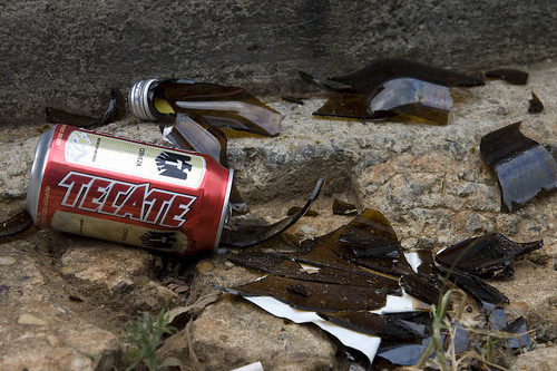 Tecate -- Served In Unbreakable Cans
