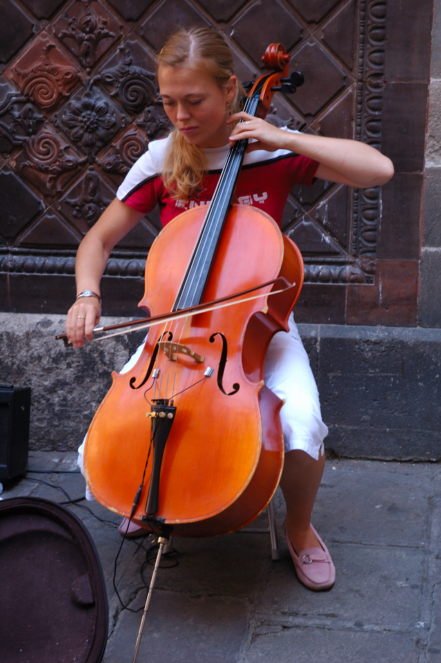 Cello Player [enlarge]
