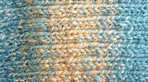 handspun scarf detail 4