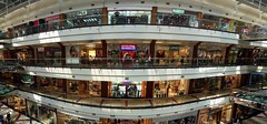 pondok indah mall 2 (Satya W) Tags: panorama architecture mall shopping indonesia wide indoor pim jakarta atrium 2007 blend pondokindah pim2 200709