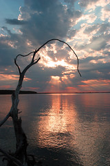 My Staff Guides Me (~ dakota sky ~) Tags: trees water clouds reflections contest sunsets karmapotd karmapotw aplusphoto amazingamatuer coolestphotographers