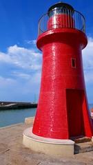 faro rosso - red lighthouse (zipponio) Tags: red lighthouse faro rosso castiglionedellapescaia