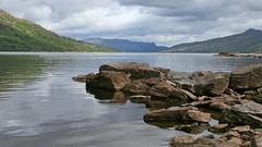 Loch Katrine (G w Clark) Tags: uk mountains water scotland rocks glen loch trossachs lochlomond lochkatrine stronachlachar
