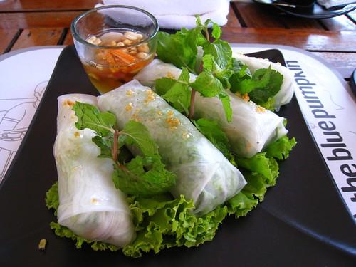 Rice Paper Rolls @ Blue Pumpkin.JPG