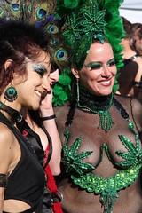 Susan and Elizabeth (Andy Frazer) Tags: costumes elizabeth susan folsom marijuana folsomstreetfair folsomstreetfair2007