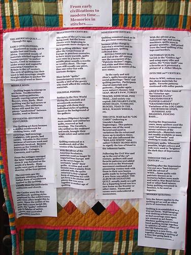 Quilt show exhibit 0718