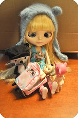 """Ella """"See you do not fit, And Ill have to zipper your head off"""" (Lawdeda ) Tags: bear boston for panda chaos go want angels ready blythe sonny now ae rbl"""