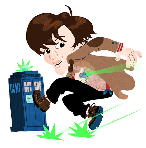 Doctor Who Fanart Edit