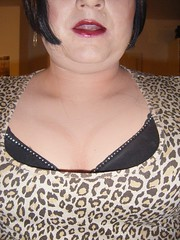 more cleavage the 2nd (♥Shannon Phoenix♥) Tags: drag tv cd tranny dragqueen crossdresser