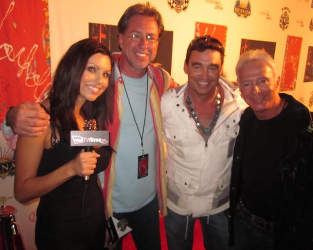 Krystle Lina, Jack Armstrong, Cosmic Starship Harley Davidson